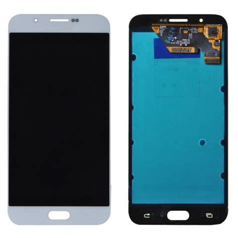 Lcd Samsung A8 lcd display touch screen digitizer assembly replacement for samsung galaxy a8 a8000 white