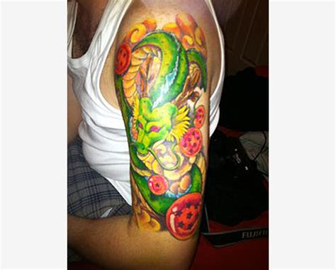 dragonball tattoo tattoos shenron the dao of