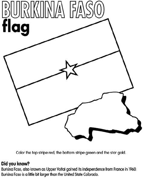 flag coloring pages crayola burkina faso coloring page crayola com
