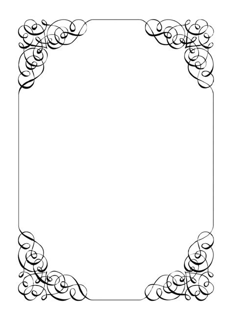 Wedding Sign Border by Invitation Borders Cliparts Co