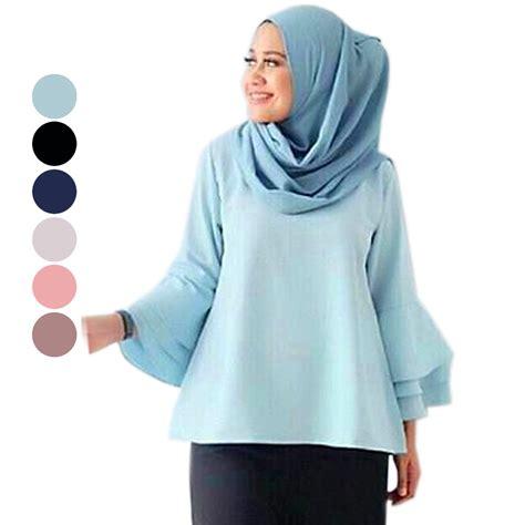 Gaine Top Atasan Wanita Blouse Wanita blouse wanita atasan wanita model blouse terbaru lebih dari 7 model elevenia