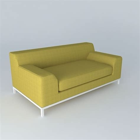 kramfors sofa kramfors two seat sofa 3d model max obj 3ds fbx stl skp
