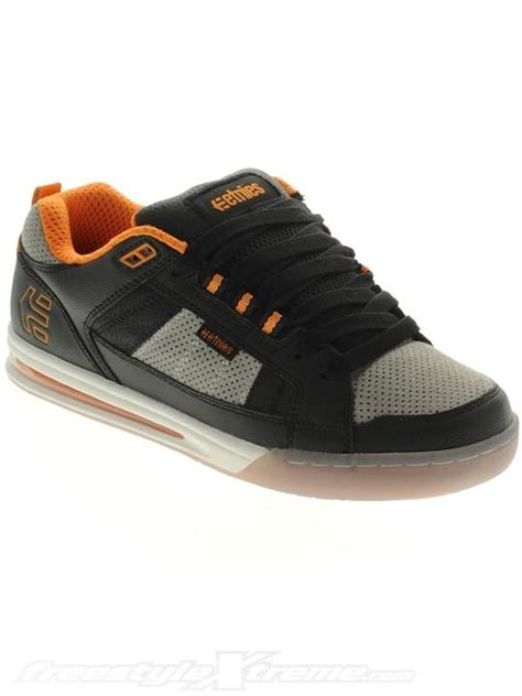 Ktm Sneakers Etnies Black Grey Ktm Orange Levi Sherwood Layered Airbag