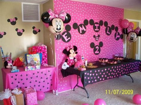 party themes minnie mouse minnie mouse party decoration ideas simply simple photos