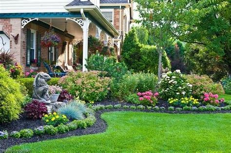 Beautiful Backyard Landscaping Ideas Invisible Flower Bed Borders For And Beautiful Garden Design