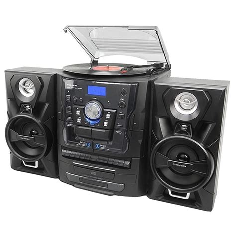 mini stereo system with cassette player mini hi fi system cd player cassette fm radio 3