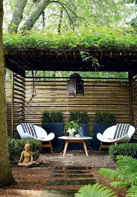 Décoration De Jardin Avec Des Galets by Modele Massif Avec Galets Deco Jardin Avec Galets