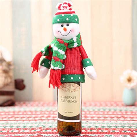 aytai 3pcs ugly christmas sweater wine bottle cover handmade wine bottle sweater for christmas decorations ugly christmas sweat sweater wine bottle cover set of 2 wine gift ebay