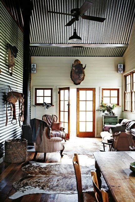 Metal Building Interior Walls by 1000 Images About Lodge On