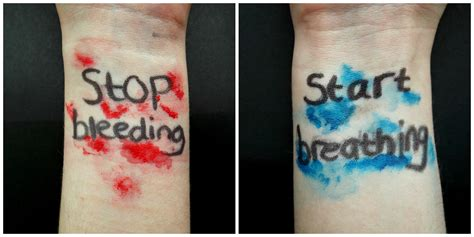 stop bleeding start breathing tonight dark times bring