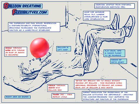 balloon breathing for stability flexibilityrx performance based flexibility