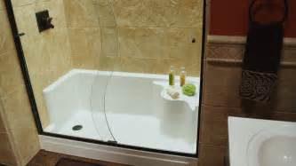 Converting A Bath To A Shower Tub To Shower Conversion The Refreshing Remodelbathroom