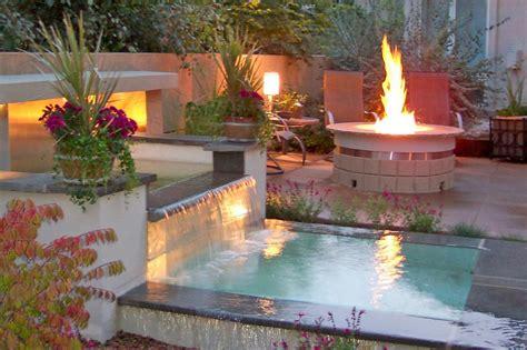 outdoor rooms  fire  water hgtv