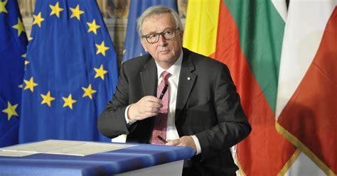 presidente della europea jean claude juncker presidente della commissione europea