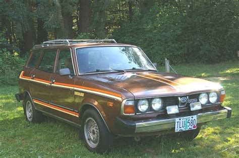 old subaru hatchback old subaru station wagon old and beautiful pinterest