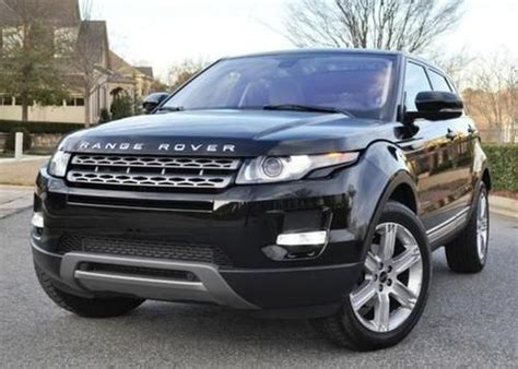 land rover range rover evoque 4 door purchase used 2012 land rover range rover evoque plus
