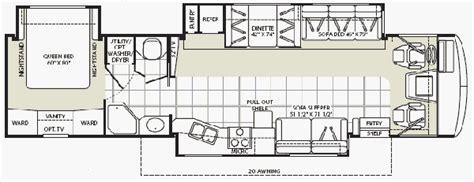 fleetwood bounder floor plans fleetwood bounder rv floor plans gurus floor