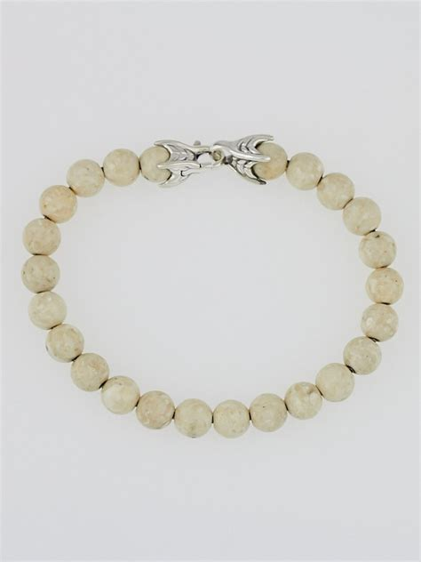 david yurman spiritual bead bracelet david yurman 8mm river spiritual bead bracelet