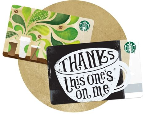 Starbucks Gift Card Amount - starbucks gift card starbucks coffee company