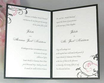 bilingual wedding invitations affordable bilingual wedding invitations http www