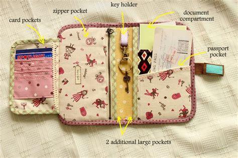 Edda Medium Wallet organizer tutorial organizer travel purse passport