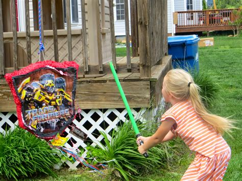 5th Bless Of Angle Pinata S welcome to the krazy kingdom bladen s 5th birthday transformers