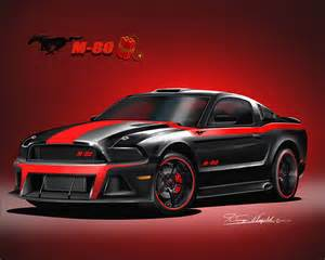 Black And Red Mustang Gallery For Gt Mustang 2013 Black And Red