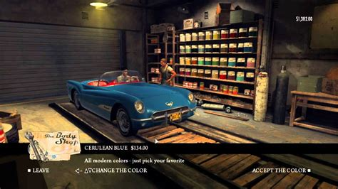 Mafia 2 Auto Tuning Stufe 3 by Mafia 2 Car Tuning Body Shop Youtube