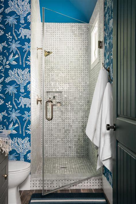 pool bathroom flooring top 20 bathroom tile trends of 2017 hgtv s decorating