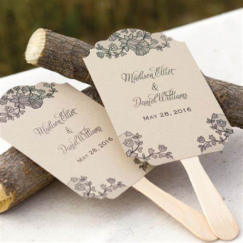 palm hand fans wedding favors lace baroque personalized fans 48 pcs palm and bamboo