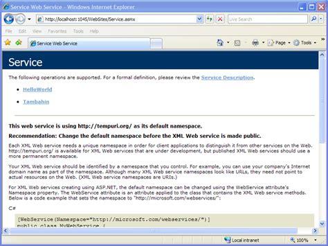 membuat aplikasi web service sederhana membuat contoh web service sederhana drackids was here
