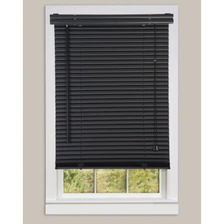 Black Window Blinds Window Blinds Mini Blinds 1 Quot Slats Black Venetian Vinyl