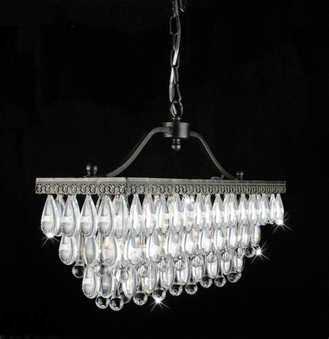 Linear Chandelier Look 4 Less And Steals And Deals Linear Strand Chandelier