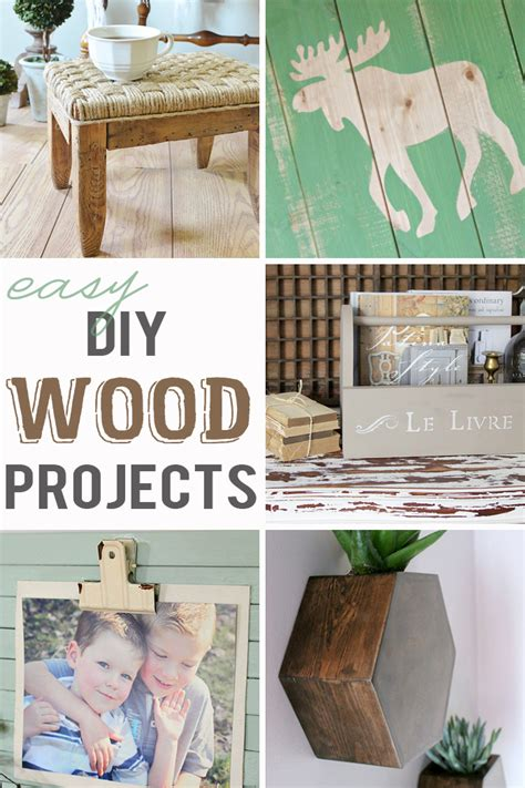 easy diy projects easy diy wood projects m mj link party 107
