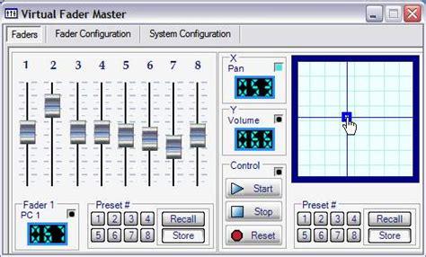 grid layout animation controller exle virtual fader master 2 0 screenshots