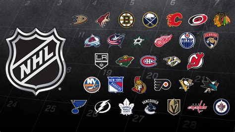 Nhl Standings by 2017 18 Nhl Schedule Released Nhl Com
