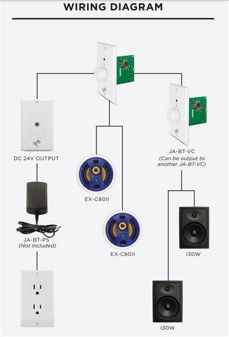 70v speaker with volume wiring diagram free