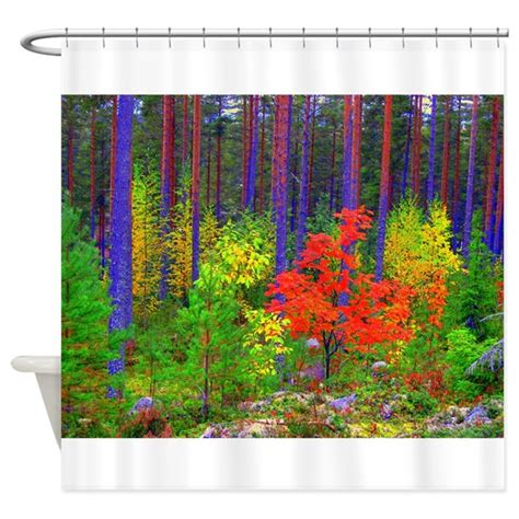 Curtains Autumn Colours Fall Colors Shower Curtain By Paulinkauppa