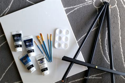 paint nite supplies how to host a paint at home the creative