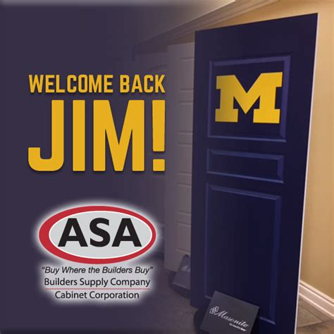 asa cabinets walled lake mi asa welcome s jim harbaugh asa builders supply