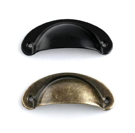Antique Brass Kitchen Cabinet Handles by Cup Dresser Pull Drawer Pulls Handle Knobs Antique Bronze