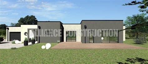 Avis Maison Et Style by Plan Maison Moderne Plain Pied Avis Pour Modifications