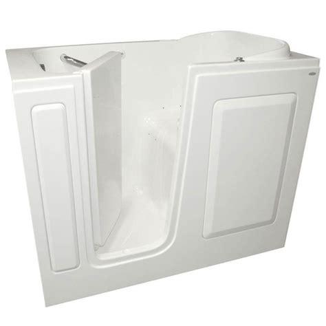 american standard walk in bathtub reviews american standard gelcoat 4 ft left quick drain walk in