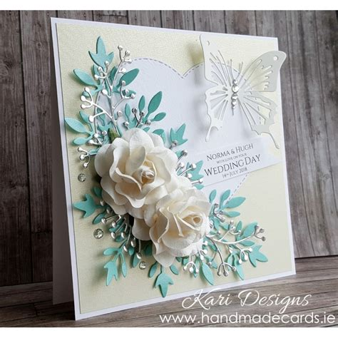 Handmade Wedding Greeting Cards - handmade wedding card