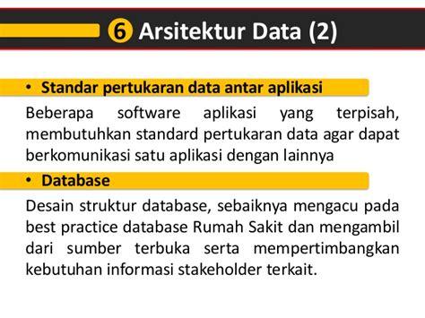 desain struktur database simrs menurut permenkes ri no 82 th 2013
