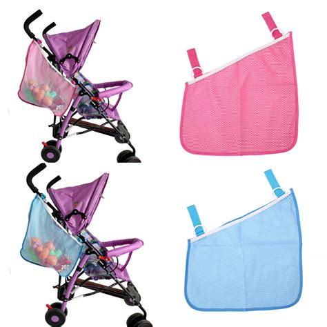 Baby Stroller Mesh Hanging Net Bag baby infant cart pram stroller mesh hanging bag pushchair