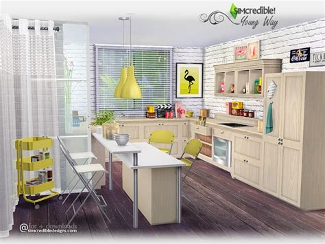 Furniture Kitchen Sets simcredible s young way kitchen