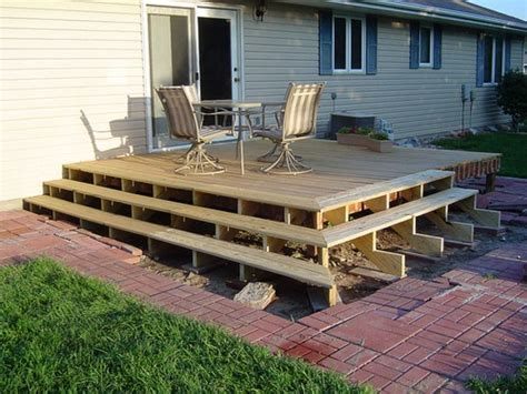 Patio Construction Ideas by Diy Decks And Porch Ideals How To Build A Deck Using