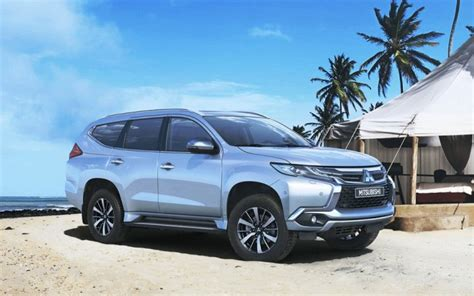 mitsubishi pajero sport 2018 mitsubishi pajero sport to be launched in india in
