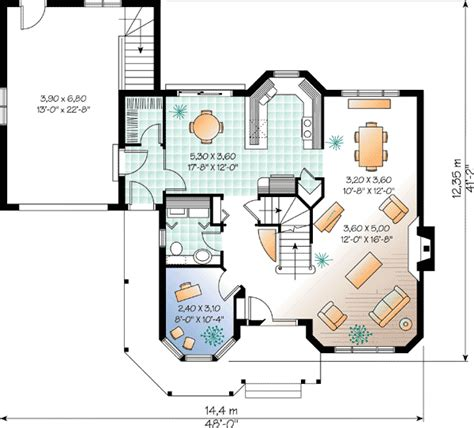flexible two family house plan 21244dr 1st floor two flexible rooms 2160dr architectural designs